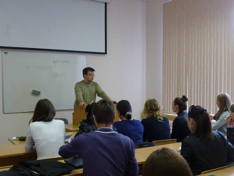 Лекции об организации выставок животных для студентов Тимирязевки
