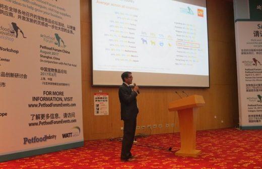 Китайский рынок кормов для животных ежегодно прирастает двухзначными числами, сказали эксперты на эксклюзивной конференции