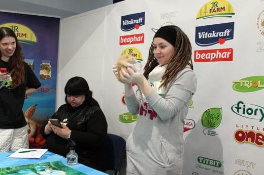 17 марта 2018 года в Москве по адресу Бизнес-центр «Амбер Плаза», ул. Краснопролетарская, 36 прошла выставка мелких домашних животных «ЗооПалитра».