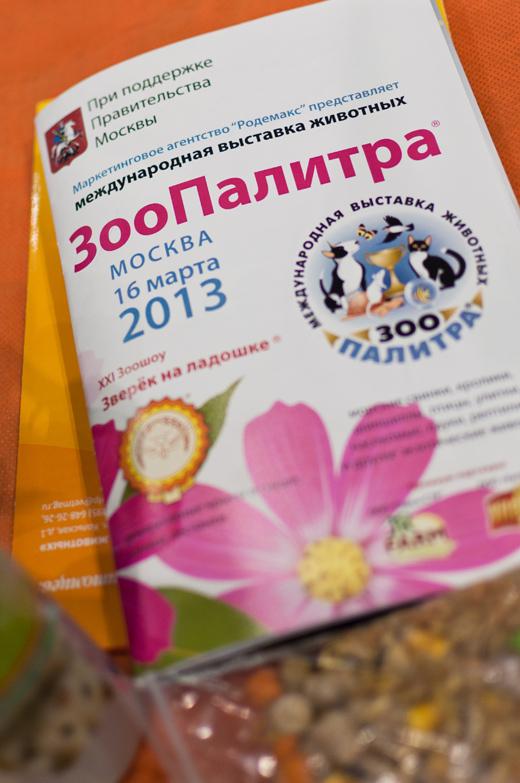 Выставка ЗооПалитра Весна 2013 Автор: Пажильцева Светлана